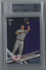 AARON JUDGE 2017 TOPPS CHROME RC #169A BECKETT BGS ALL 9.0 Mint YANKEES ROY! **
