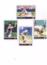 LOT 4 1992 Leaf Series 2 Charles Nagy Bobby Witt Lou Whitaker Junior Noboa