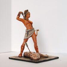 Plomo soldado de juguete, diosa romana Diana de caza, RARA, EXCLUSIVO Regalo, Juguete detallada