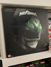 Bandai Mighty Morphin Power Rangers Legacy GREEN Ranger Helmet NEW Tommy