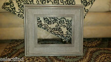 ANTIQUE LOOK GRAY SHABBY CHIC ELEGANT 8 X 10 LARGE WOOD PHOTO FRAME MEXICO MADE