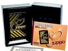 New/Rare Zippo Lighter 80 th - 80th Anniversary Gold 1932-2012 Limited Edition