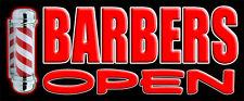 Tienda de banner barberos Signo De Vinilo Banners PVC signos al aire libre