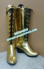 Vocaloid 2 Megurine Luka Cosplay Boots Shoes Custom-Made