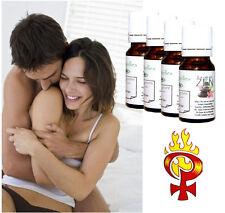 """Lot spécial d'huiles essentielles """"Aphrodisiaque pour elle"""" pack de 4 flacons"""