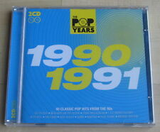 The Pop Years 1990 - 1991 (2CD 2009). Kylie Minogue, Bros, Level 42, Rick Astley
