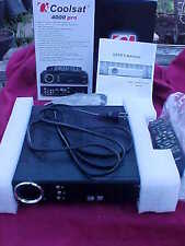 COOLSAT 4000 PRO WITH REMOTE,MANUAL,BOX GREAT CONDITION