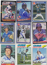 1977 TOPPS SIGNED CARD GEORGE MITTERWALD CHICAGO CUBS MINNESOTA TWINS # 124