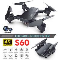 Faltbar WIFI FPV Drohne 1080P/4K HD Kamera Selfie Quadrocopter RC Drone Gifts