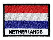 Écusson patche patch PAYS-BAS HOLLANDE 70 x 45 mm Pays du monde brodé