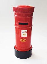 High Quality London Die Cast Toy Letterbox Red Model Pencil Sharpener UK Seller