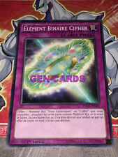 Carte Yu Gi Oh ELEMENT BINAIRE CIPHER INOV-FR069 x 3