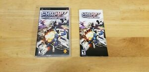 Pursuit Force: Extreme Justice (Sony PSP 2007) CIB Complete W/ Manual