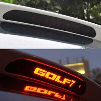 Carbon Fiber Style High Brake Light Decorative Cover Sticker For GOLF MK7