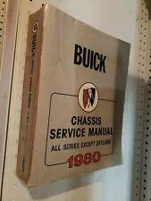 Sachbücher Werkstatthandbuch Buick Chassis Service Manual All Series 1978