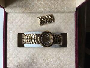Stunning 18k Gold Plated Raymond Weil Ladies Watch
