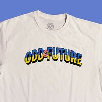 Odd Future Donut Spellout Title Shirt Size Medium