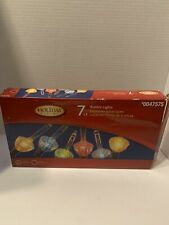 Holiday Living Bubble Lights ~ Set of 7 Christmas String Lights ~ Multicolor