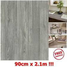 NEW DIY Kitchen Worktop Grey Wood Vinyl Cover Self Adhesive Sticky Back Wrap
