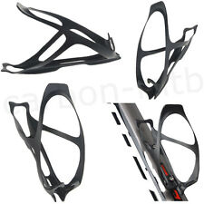 Sport Carbon Cycling Bicycle Bike Glass Water Bottle Holder 3K Matte Bottle Cage