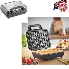 VonShef Belgian Waffle Maker 2 - Slice, Automatic Temp, Control, 1000W