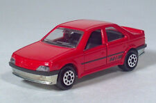 "Majorette 218 Peugeot 405 MI 16 2.75"" Die Cast 1:62 Scale Model France"
