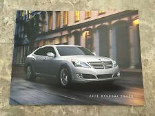 2015 Hyundai Equus 16-page Original Sales Brochure