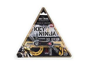 Key Ninja - Organize Up To 30 Keys, Dual LED Lights, Built In Bottle Opener (...