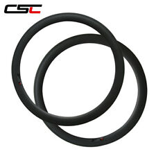 CSC 50mm Clincher carbon bike rim only / carbon bicycle road rim