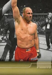 Randy Couture 2011 Topps UFC Title Shot Top Ten Title Fights Misprint