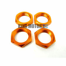 King Motor Orange Stock Wheel Nuts (4) Fits HPI Baja 5B 2.0 Rovan Buggy & Truck