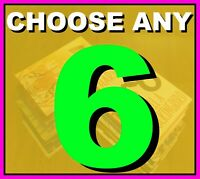 Book Bundle. CHOOSE ANY 6 Classics Bestsellers Life of Pi Penguin Lots of books
