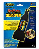 Spyder  2 in. L Carbon Steel  Scraper  1 pk