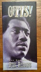 Otis! The Definitive Otis Redding 4 CD Set Tall Box 98-Page Book 1993 Rhino
