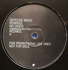 """DEPECHE MODE REMIXES - NO DISCO / WORLD IN MY EYES - VINYL MAXI (12"""") RAR - NEU"""