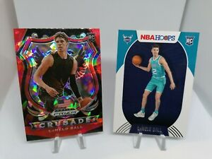 Huge Charlotte Hornets lot 60 different cards inc. 2 x LaMelo Ball Rookie Prizm