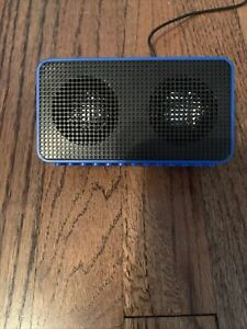 Brix Buildable Battery Operated Universal Blue Rectangle Speaker