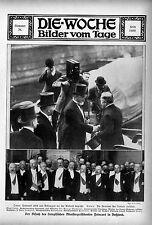 Primo ministro della Francia Poincarè in Russia (sconfiggono articolato) c.1912