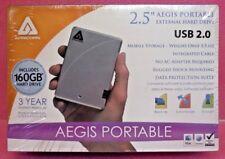 Apricorn Aegis Portable External Hard Drive 160 GB USB 2.0 - A25-USB-160