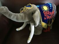 Ringling Bros. Barnum And Bailey Circus 135th Edition Elephant Plush Rare