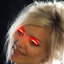1 Pair LED Luminous Eyelash Light Up Fashion False Eye Lash Party Icon Club Bar