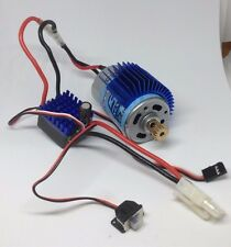 FTX 15T 550 Motor & ESC Waterproof Brushed Carnage/Vantage w/ Tamiya Connector