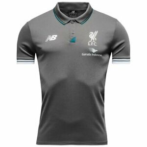 NEW BALANCE LIVERPOOL 2016 POLO GOLF SOCCER FOOTBALL SHIRT JERSEY MAILLOT SIZE M