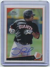 Pablo Sandoval 2011 Topps Lineage '09 Topps Rookie RC Autograph Auto On-Card 426