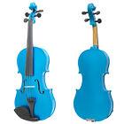 Mendini Solid Wood Violin Size 4/4 3/4 1/2 1/4 1/8 1/10 1/16 1/32