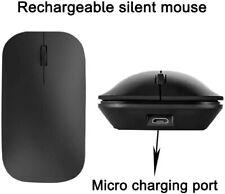 MOUSE MICRO USB RICARICABILE SENZA FILI BLUETOOTH 1600DPI NOTEBOOK E PC MINI BT