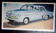 VAUXHALL VELOX   Vintage 1950's Coloured Card