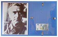 VON PAULUS comandante, Germania Nazismo Fascismo: quadro cornice vetro cm 30x24