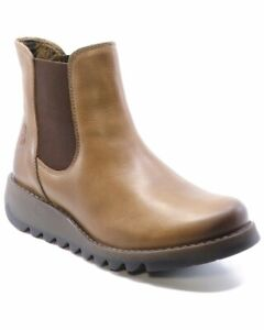 Ladies Fly London Sarl Atlantis Fashion Work Office Casual Smart Boots All Sizes