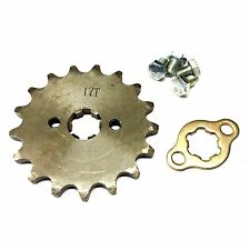 NEW #420 CHAIN FRONT PINION SPROCKET WITH 17 TEETH FOR ATV, DIRT BIKE